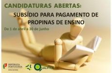 SUBSÍDIO PARA PAGAMENTO DE PROPINAS