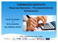 Formação Gratuita: Recursos Humanos - Processamento de Vencimentos